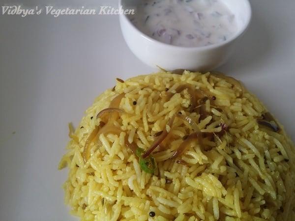 Onion Rice – Vengaya Sadam