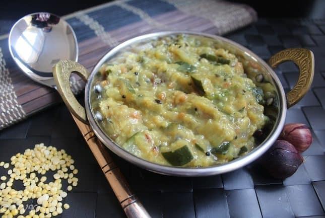 Zucchini Kootu / Dhal