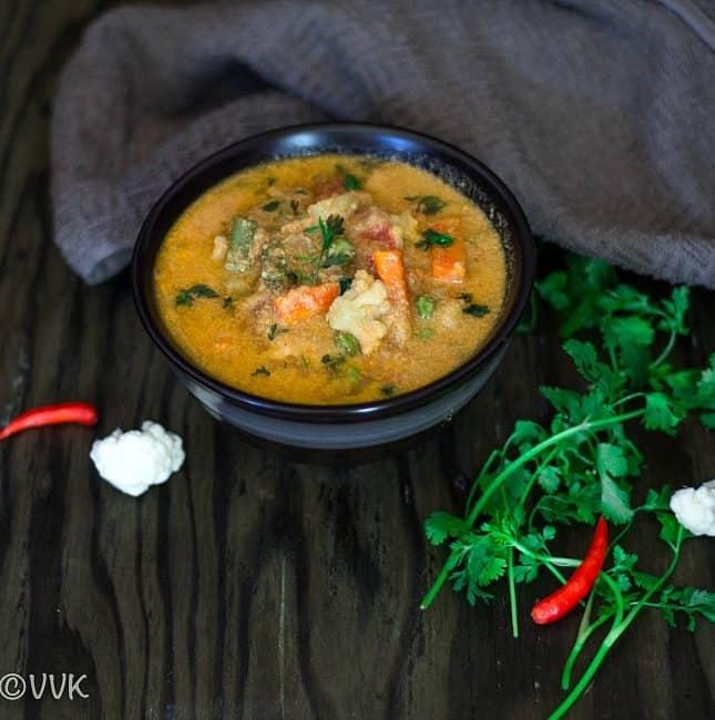 Instant Pot Vegetable Kurma | Kuruma | Korma