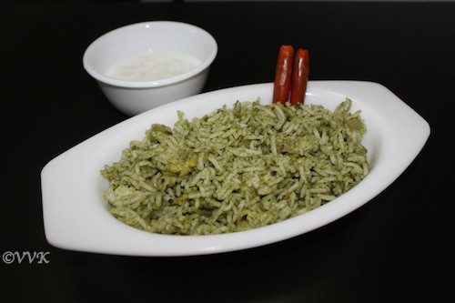 Pudina Saadam (Mint Rice)