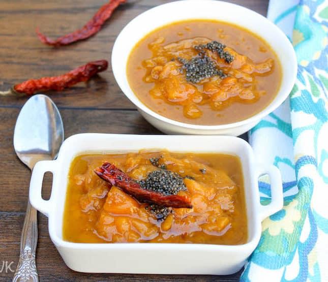Mango Pachadi | Mambazha Pachadi | Sweet Mango Relish