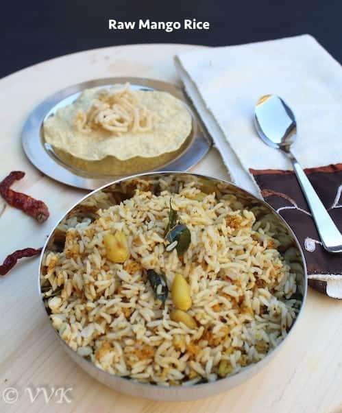 Mango Rice | Raw Mango Rice