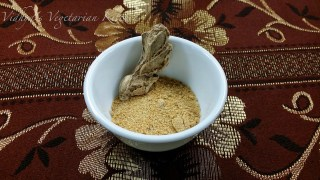 Sukku Vellam | Dried Ginger and Jaggery Powder |Chithirai Thiruvizha Prasadams