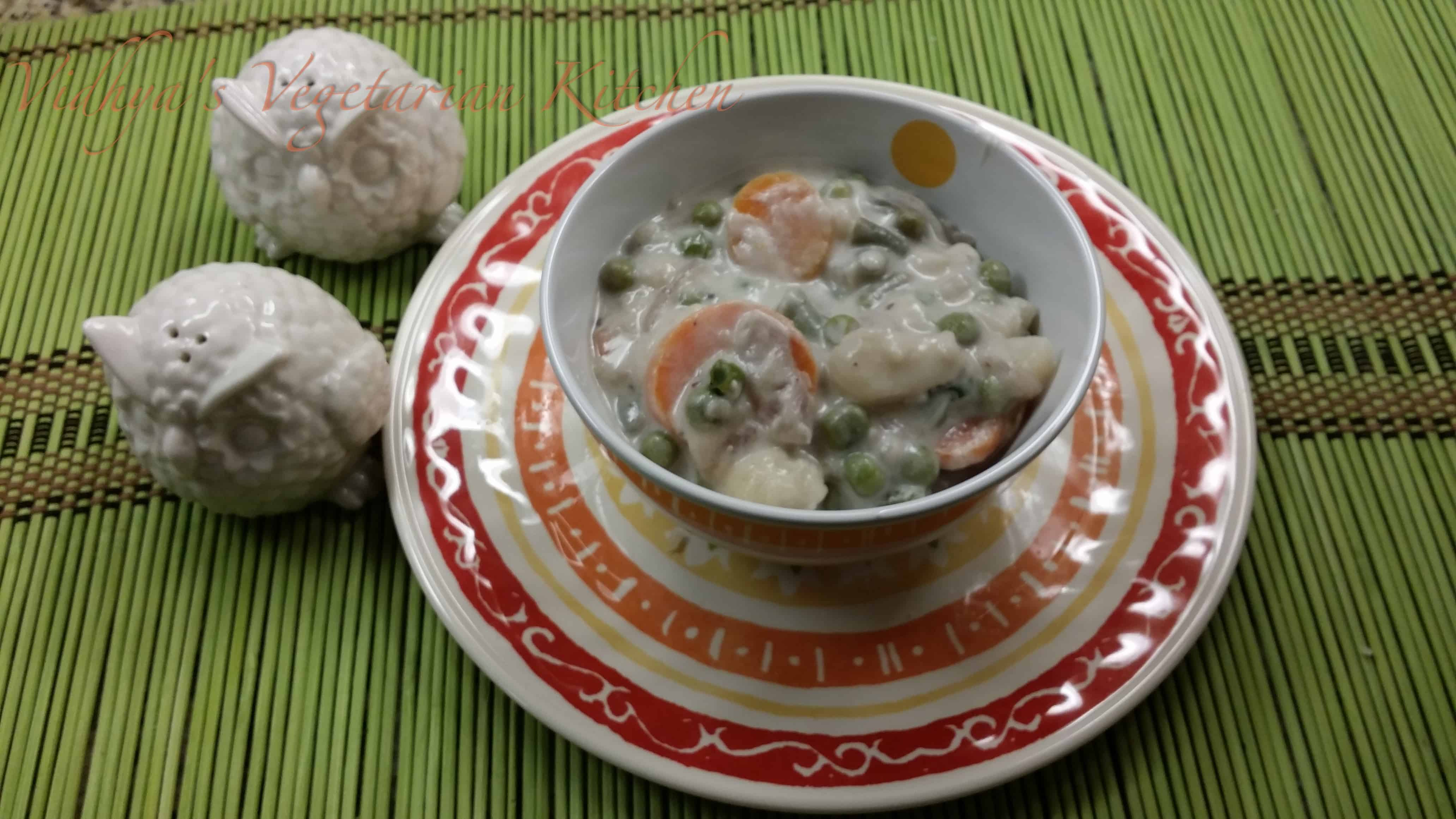 Healthy and delicious vegetable stew
