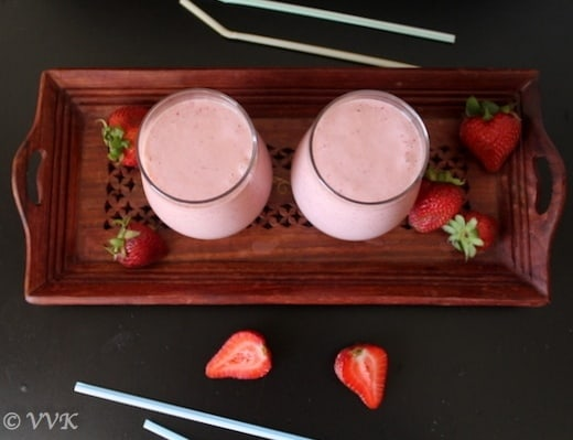 StrawberryChocolateMilkShake