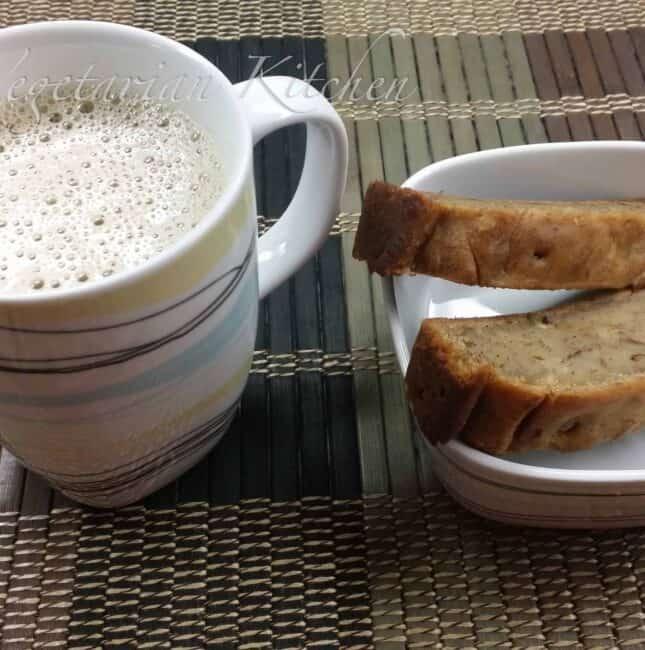 Eggless Banana – Walnut bread