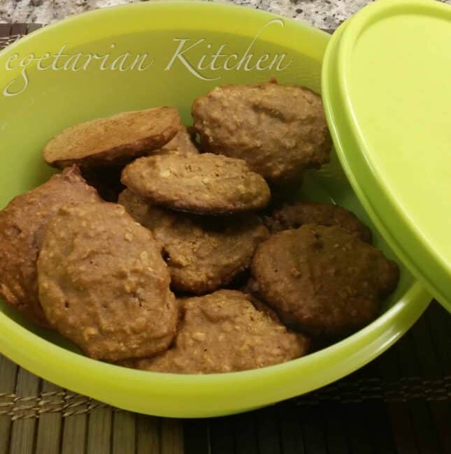 Eggless Pumpkin cookie with quinoa flour