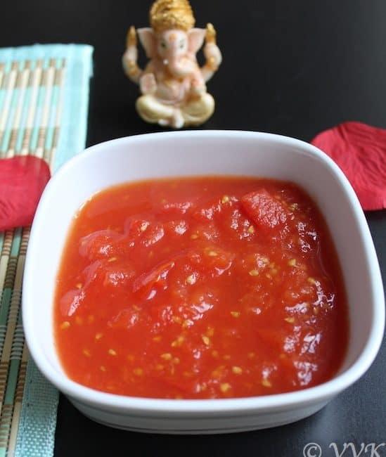 Microwave – Sweet Tomato Pachadi