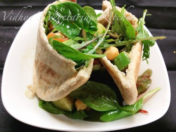 PitaPocketSalad Wrap1