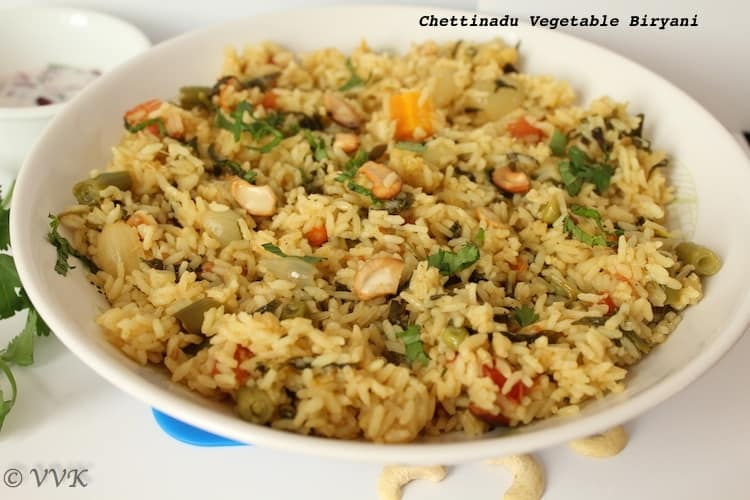 Chettinad vegetable biryani tamil nadu special chettinad vegetable biryani tamil nadu special 23 comments forumfinder Gallery
