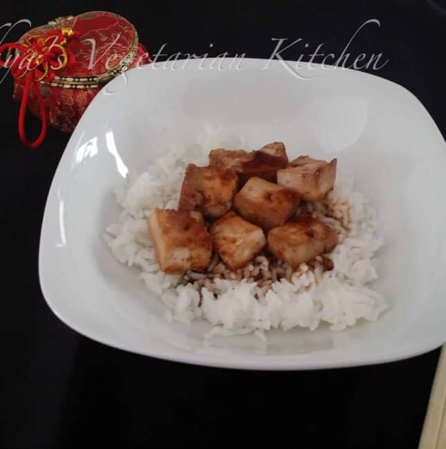 Teriyaki Tofu (Broiled)