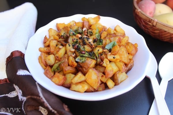 Baked Indian Style Potato Curry