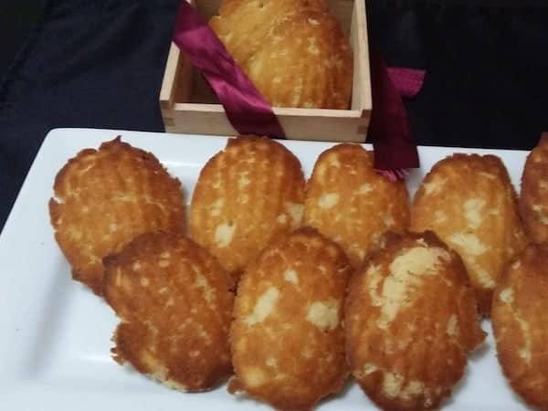 Eggless Madeleine