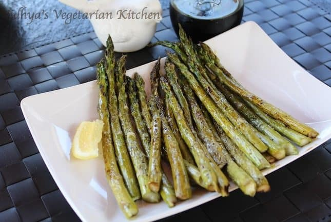 Baked Asparagus with Balsamic Vinegar