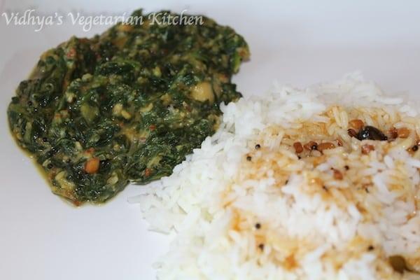 Keerai Kootu / Spinach Kootu
