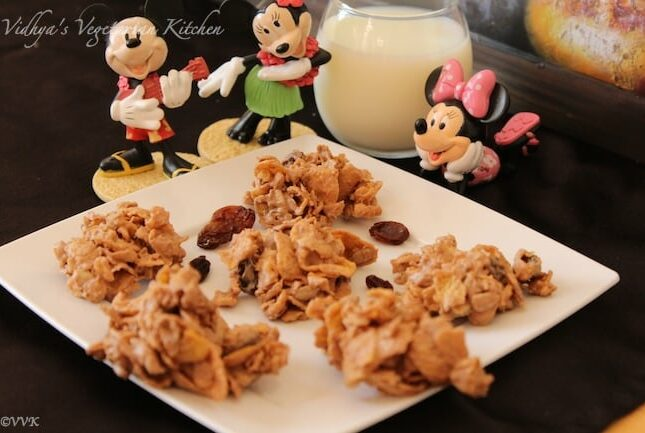 No bake Chocolate Cereal Clusters