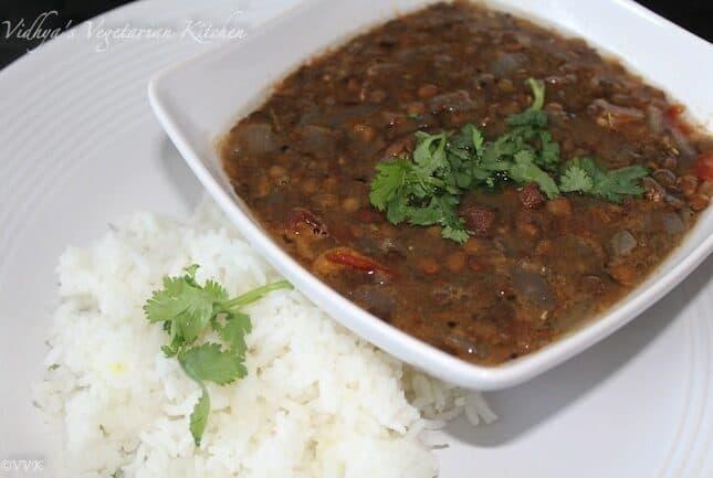 Slow Cooker Masoor Dhal Tadka