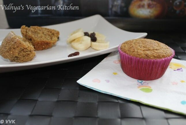 Eggless Multigrain Muffins with Buttermilk