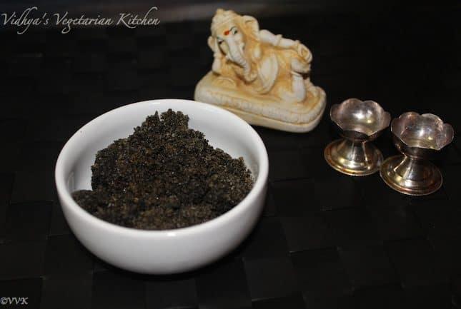 Sesame Seeds filling for Kozhukattai / Ellu pooranam / Chiguli