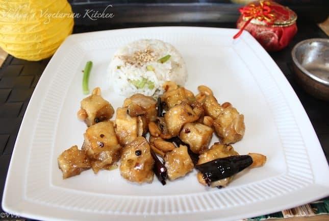 Kung Pao Tofu With Jasmine Rice