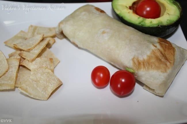 QuinoaSpinachBurrito
