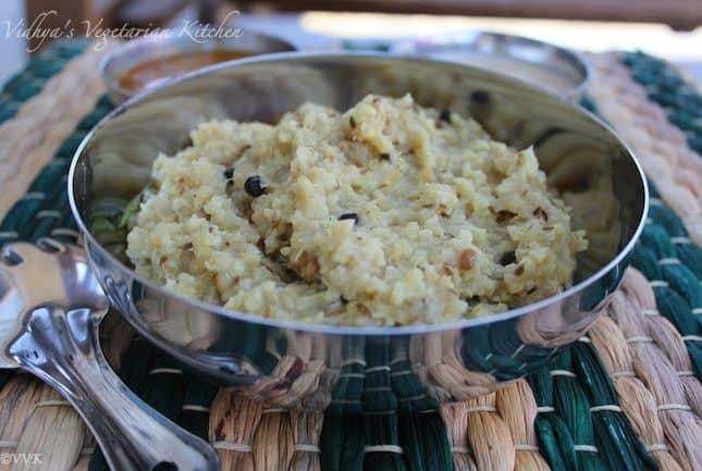 Quinoa – Foxtail Millet Pongal