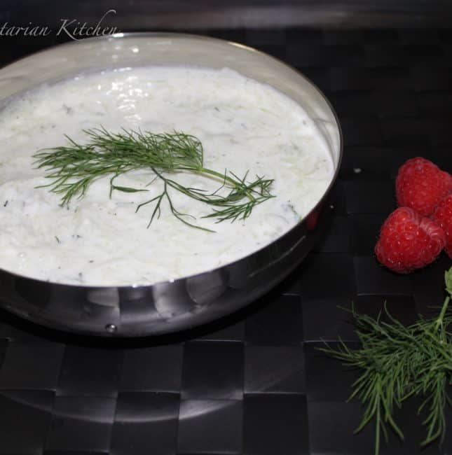Tzatziki Sauce / Cucumber and Yogurt based Greek Sauce