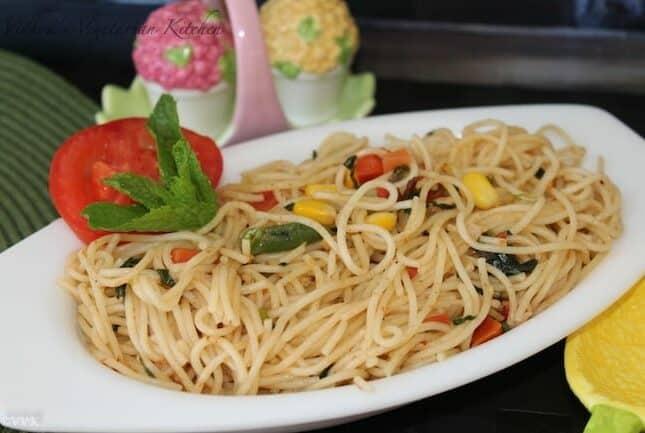 Spaghetti Pulav