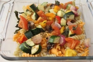 RotiniCasseroleWithRoastedVeggies