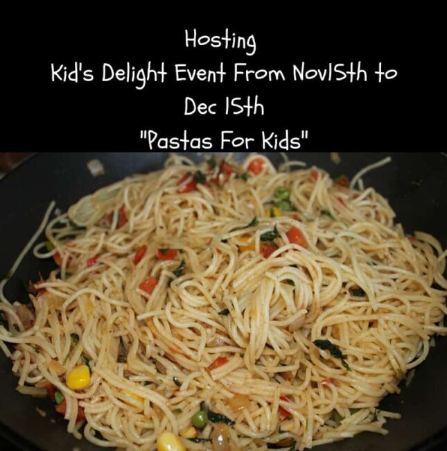 Hosting Kid's Delight Event | Pasta For Kids