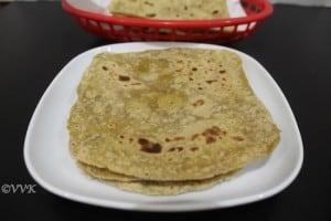 Avocado Roti/Phulka