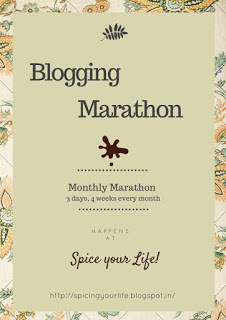 Blogging Marathon Cover Explaining the Rules of the Marathon