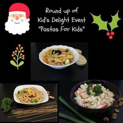 Roundup – Kids Delight Event | Pastas