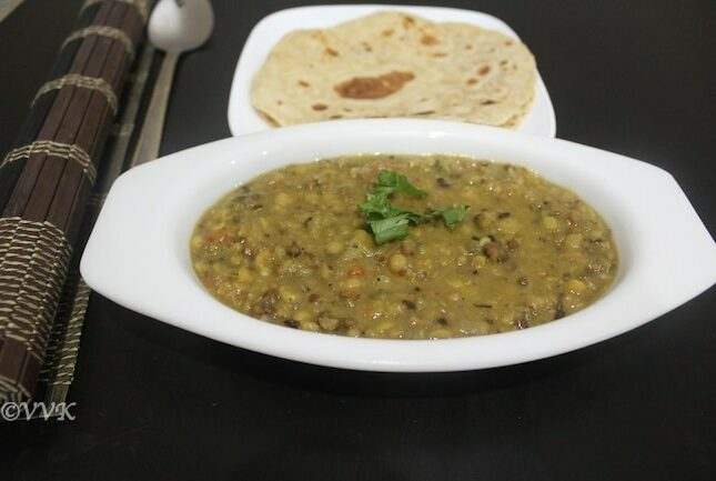 Slow Cooker Panch Mel Dal