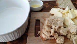 ChoppedApplesAndBread