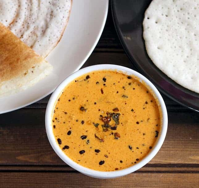 Mushti Dosa with Hing Chutney | Guest Post by Kushi