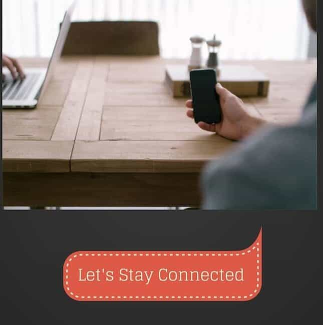 Stay Connected With Your Friends And Family
