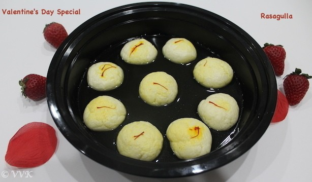 Rasagulla with homemade Paneer | Pressure Cooker Recipe