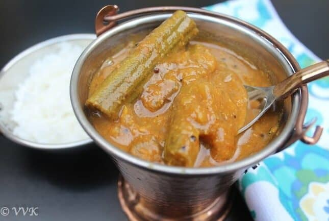 Tomato Drumstick Sambar | Ariachuvitta Sambar Varieties