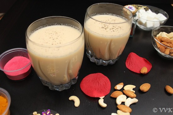 Thandai With Evaporated Milk