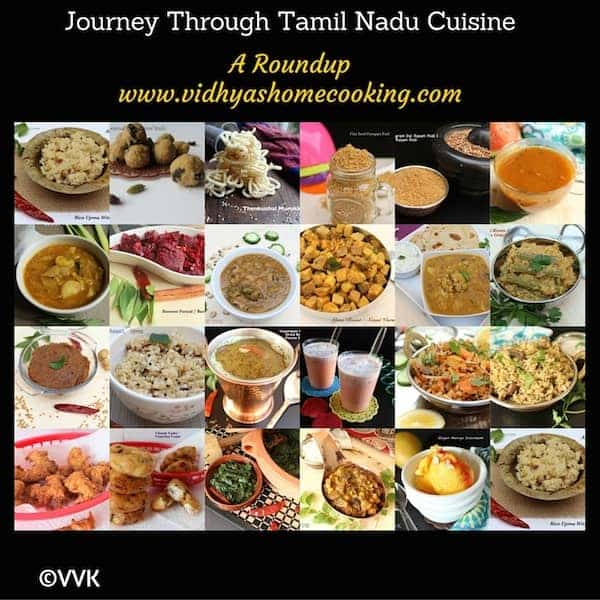 Journey Through Tamil Nadu Cuisine | The A-Z Recipes – A Round Up