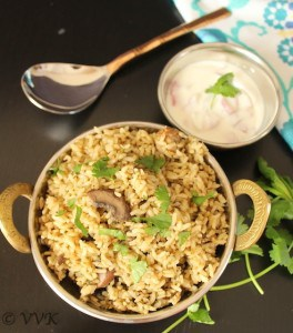 MushroomBiryani