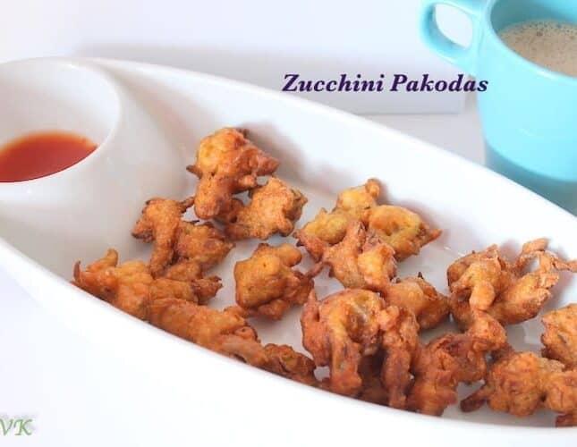 Zucchini Pakoda / Pakora