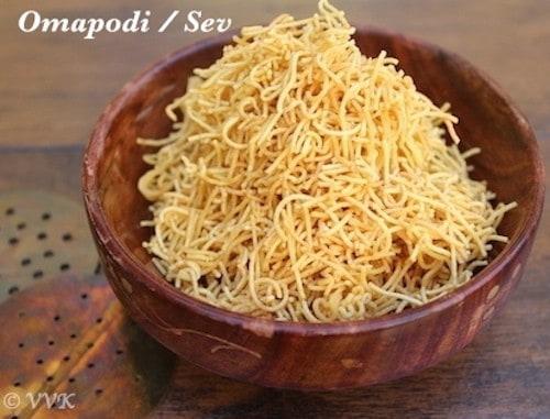 Omapodi | Ajwain Flavored Nylon Sev