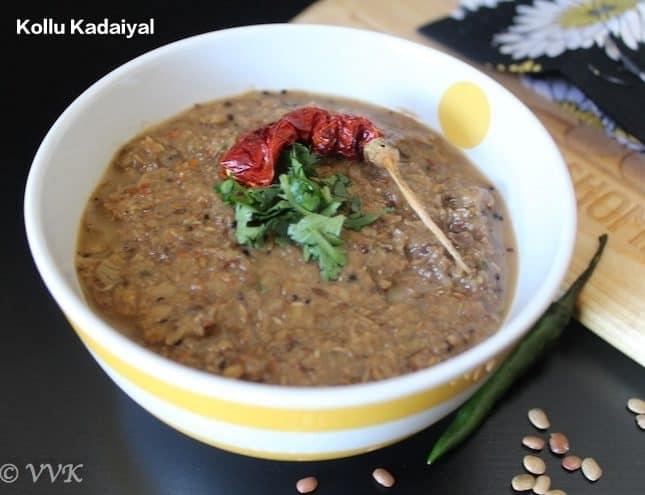 Kongu Nadu Style Kollu/Horse gram Kadaiyal | Masiyal