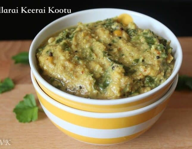 Vallarai Keerai Kootu | Indian Pennywort Curry