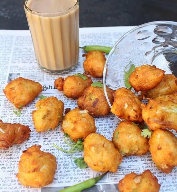 Adai Batter Vegetable Pakoras