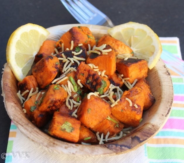sweetpotatochaat