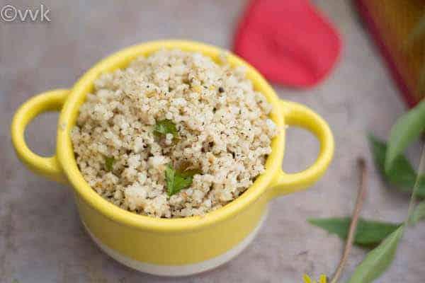 Samai Milagu Orai | Pepper Bhath with Little Millets