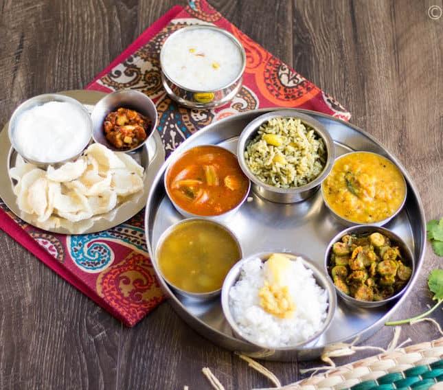 Andhra | Telangana Thali Spread